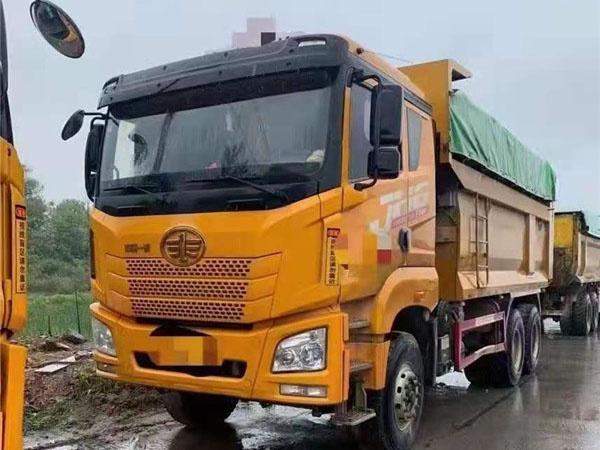 五台环保车,375马力潍柴,5.8米货箱